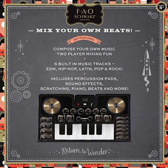 FAO Schwarz Music Mat DJ Mixer